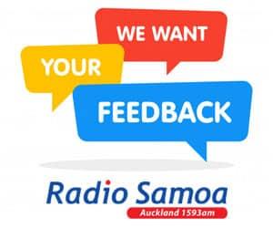 feedback2 - Radio Samoa